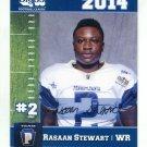 RASAAN STEWART 2014 Pennsylvania PA Big 33 High School card VILLANOVA
