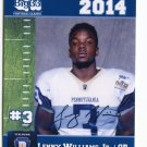 LENNY WILLIAMS Jr. 2014 Pennsylvania PA Big 33 High School card TEMPLE QB