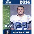 COLIN JONOV 2014 Pennsylvania PA Big 33 High School card BUCKNELL