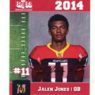 JALEN JONES 2014 Maryland MD Big 33 High School card NEW MEXICO QB