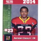 ANTHONY CHESLEY 2014 Maryland MD Big 33 High School card COASTAL CAROLINA