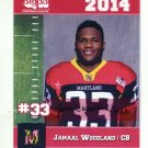 JAMAAL WOODLAND 2014 Maryland MD Big 33 High School card TOLEDO