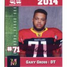 GARY GROSS 2014 Maryland MD Big 33 High School card
