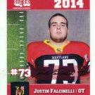 JUSTIN FALCINELLI 2014 Maryland MD Big 33 High School card CLEMSON Tigers