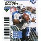 STEVE McNAIR 2002 NFL Showdown FOIL SP #340 Titans QB RIP