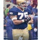 AARON TAYLOR 2013 Upper Deck UD Collectible #65 Notre Dame Irish