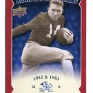 JOHNNY LATTNER 2013 Upper Deck UD Collectible All-Americans INSERT Notre Dame Irish