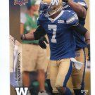 DESMOND WASHINGTON 2014 Upper Deck UD CFL #146 Auburn tigers DB