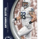 ANTHONY ZETTEL 2016 Panini Collegiate Collection #14 PENN STATE Lions