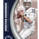 CHRISTIAN HACKENBERG 2016 Panini Collegiate Collection #49 ROOKIE PENN STATE Jets QB