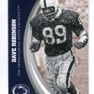 DAVE ROBINSON 2016 Panini Collegiate Collection #50 PENN STATE Packers HOF