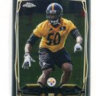RYAN SHAZIER 2014 Topps Chrome #218 ROOKIE Ohio State Buckeyes STEELERS