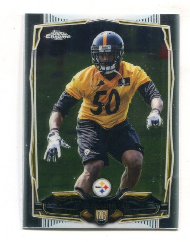 RYAN SHAZIER 2014 Topps Chrome MINI #218 ROOKIE Ohio State Buckeyes STEELERS
