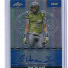 DEMETRIC VANCE 2016 Leaf Army All-American AUTO BLUE PRISMATIC Michigan State 4-star SAFETY #d/50