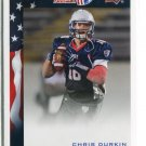 CHRIS DURKIN 2014 Upper Deck UD USA Football #34 Virginia Tech Hokies QB