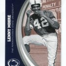 LENNY MOORE 2016 Panini Collegiate Collection #32 PENN STATE Colts HOF