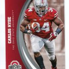 CARLOS HYDE 2015 Panini Collegiate Collection #13 OHIO STATE BUCKEYES 49ers