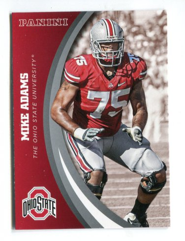 MIKE ADAMS 2015 Panini Collegiate Collection #37 OHIO STATE BUCKEYES Steelers BEARS
