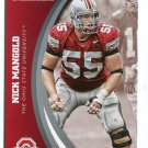NICK MANGOLD 2015 Panini Collegiate Collection #40 OHIO STATE BUCKEYES Jets