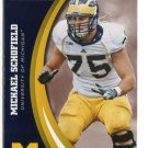 MICHAEL SCHOFIELD 2015 Panini Collegiate Collection #27 MICHIGAN WOLVERINES Broncos