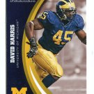 DAVID HARRIS 2015 Panini Collegiate Collection #47 MICHIGAN WOLVERINES Jets