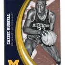 CAZZIE RUSSELL 2015 Panini Collegiate Collection #50 MICHIGAN WOLVERINES