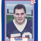 JEFF HARTINGS 1995 Penn State Second Mile STEELERS