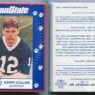 PENN STATE Second Mile 1993 Football Complete Set KERRY COLLINS on top