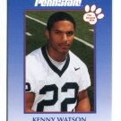 KENNY WATSON 2000 Penn State Second Mile College Card REDSKINS Bengals RB