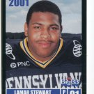 LAMAR STEWART 2001 Big 33 Pennsylvania PA card PENN STATE RB