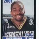 MARCUS FURMAN 2001 Big 33 Pennsylvania PA card PITT Panthers RB