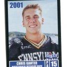 CHRIS GANTER 2001 Big 33 Pennsylvania PA card PENN STATE QB
