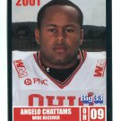 ANGELO CHATTAMS 2001 Big 33 Ohio OH card OHIO STATE Buckeyes WR
