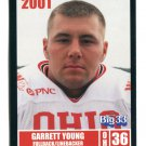 GARRETT YOUNG 2001 Big 33 Ohio OH card WAKE FOREST FB / LB