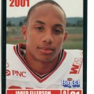 JARED ELLERSON 2001 Big 33 Ohio OH card MINNESOTA Gophers WR / DB