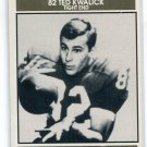 TED KWALICK 1992 Big 33 Maryland MD Honorary Chairman card PENN STATE 49ers