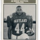 BRENT GUYTON 1992 Big 33 Maryland MD High School card UCLA Bruins LB