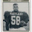 JULIAN NORMENT 1992 Big 33 Maryland MD High School card MICHIGAN Wolverines OL