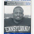 MELVIN COBBS 1995 Big 33 Pennsylvania High School card RUTGERS RB