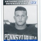 ANTHONY CLEARY 1995 Big 33 Pennsylvania PA High School card PENN STATE