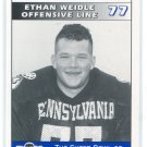 ETHAN WEIDLE 1995 Big 33 Pennsylvania PA High School card PitT Panthers