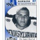 CULLEN HAWKINS 1996 Big 33 Pennsylvania High School card VIRGINIA TECH Hokies