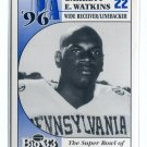 GARRETT E. WATKINS Big 33 Pennsylvania PA High School card PENN STATE