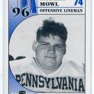 ROBERT MOWL 1996 Big 33 Pennsylvania High School card NOTRE DAME Irish