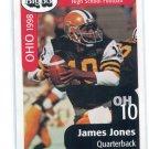 JAMES JONES 1998 Big 33 Ohio OH High School Honorary Chairman USC Trojans QB