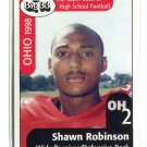 SHAWN ROBINSON 1998 Big 33 Ohio OH High School card PITT PANTHERS