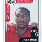 RYAN WELLS 1998 Big 33 Ohio OH High School card STANFORD