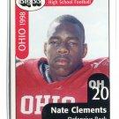 NATE CLEMENTS 1998 Big 33 Ohio OH High School card OHIO STATE Buckeyes BILLS