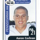 AARON COCHRAN 1998 Big 33 Pennsylvania PA High School card MICHIGAN STATE Spartans