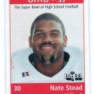 NATE STEAD 1998 Big 33 Ohio OH High School card OHIO STATE Buckeyes RB